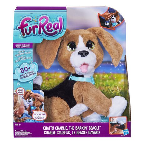 Furreal Friends Furreal Chatty Charlie, The Barkin Beagle (French) Multi Aa