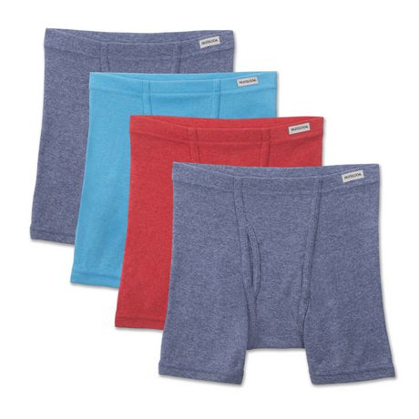 Fruit of the Loom Boys' beyond Soft Boxer Briefs, Pack of 4 - image 1 of 3
