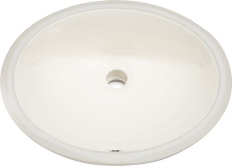 American Imaginations 19.75-in. W Undermount Sink Set Biscuit - image 4 of 6