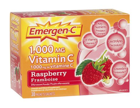 Emergen-C, a product line of dietary supplements, is widely available in many drugstores and supermarkets. Although the specific contents of an Emergen-C product vary, most Emergen-C products contain very large doses of vitamin C, vitamin B and vitamin BFounded: Jun 17,