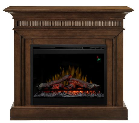 Traditional Walnut 4 777 Btu 43 Quot Wide Harleigh Mantel With