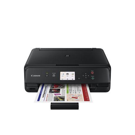 Imprimante à jet d'encre sans fil tout-en-un PIXMA TS5020 de Canon en noir - image 1 de 1