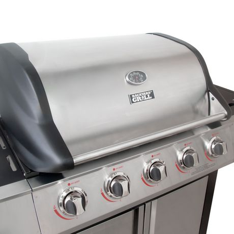 Backyard Grill 5 Burner LP Propane Gas Grill BBQ ...