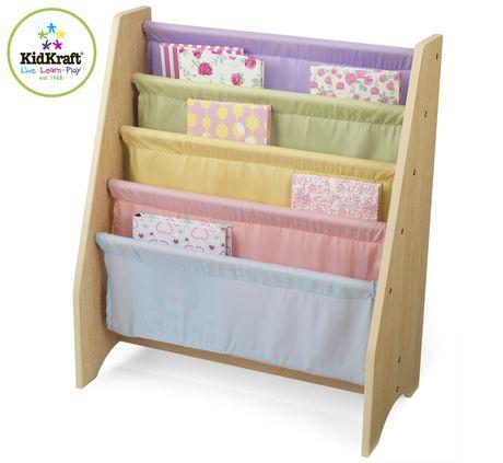 pastel sling bookshelf walmart canada. Black Bedroom Furniture Sets. Home Design Ideas