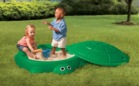 LITTLE TIKES Turtle Sand Box - image 2 of 2