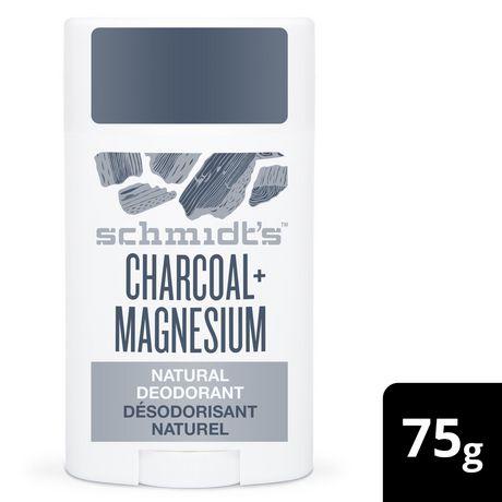 Schmidt's Charcoal + Magnesium Natural Deodorant Stick 75 GR - image 1 of 3