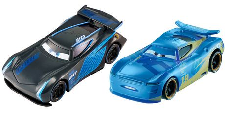 Disney pixar cars 3 jackson storm danny swervez die cast for Three jackson toy