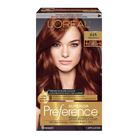 loral superior prfrence walmartca - L Oreal Coloration Rouge