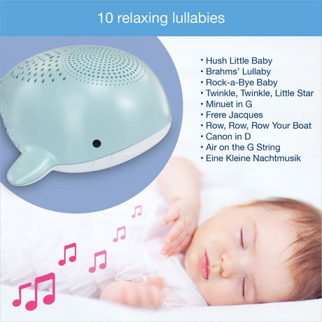 VTech® Wyatt the Whale Storytelling Baby Soother with Glow-on-Ceiling Night Light - BC8312 - image 5 of 8