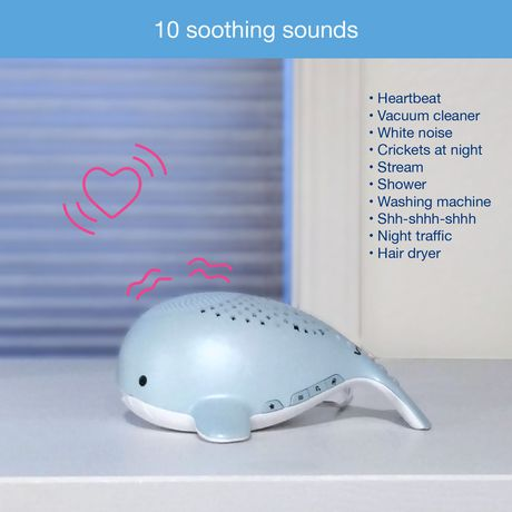 VTech® Wyatt the Whale Storytelling Baby Soother with Glow-on-Ceiling Night Light - BC8312 - image 6 of 8