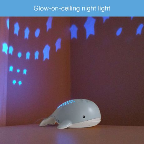 VTech® Wyatt the Whale Storytelling Baby Soother with Glow-on-Ceiling Night Light - BC8312 - image 8 of 8