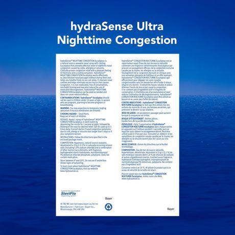 Vaporisateur Eucalyptus de hydraSense à soin nasal - image 2 de 2