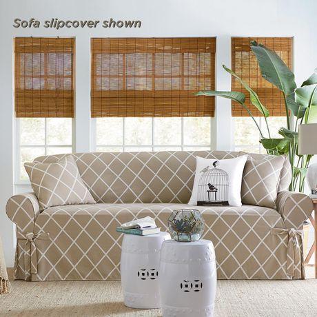 Housse Lattice pour canapé par Sure Fit - image 3 de 4
