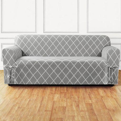 Housse Lattice pour canapé par Sure Fit - image 2 de 4