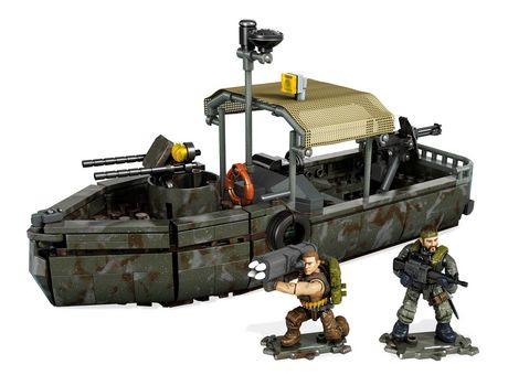 Mega Bloks Call Of Duty Riverboat Raid Building Set Walmart Canada