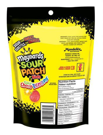 Maynards Sour Cherry Blasters Candy - image 2 of 3