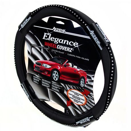 Black Bling Steering Wheel Cover
