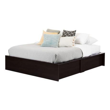 lit coffre grand avec rangement 60 po fusion de meubles south shore. Black Bedroom Furniture Sets. Home Design Ideas