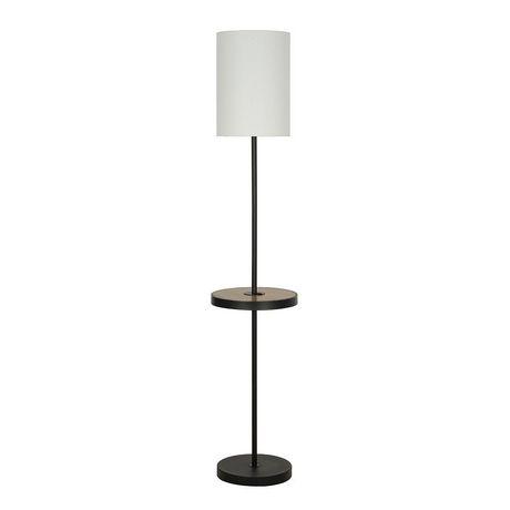 Hometrends Multi Functional Floor Lamp, Floor Lamps With Shelf Canada