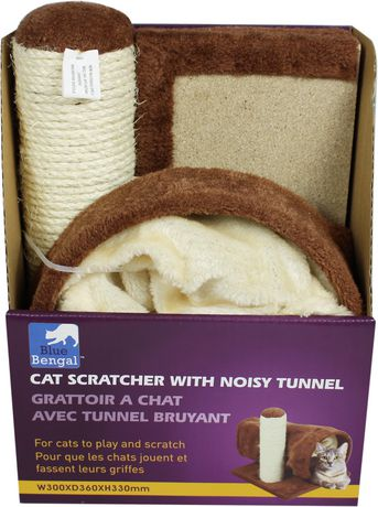 Blue Bengal CAT Scratcher with Noisy Tunnel - image 3 of 4