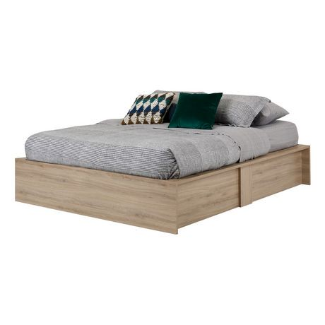 lit coffre grand avec rangement 60 po fusion de meubles south shore walmart canada. Black Bedroom Furniture Sets. Home Design Ideas