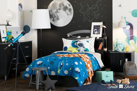 South Shore DreamIt Blue and Turquoise Cosmic Wall Decals - image 3 of 4