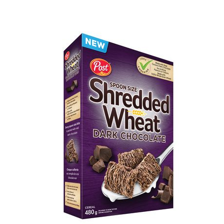 Post Foods Spoon Size Sdark Chocolate Shredded Wheat Cereals - image 1 of 1