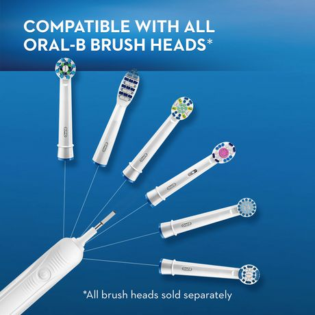 Oral-B Pro 5000 SmartSeries Power Rechargeable Electric Toothbrush Powered by Braun - image 2 of 9