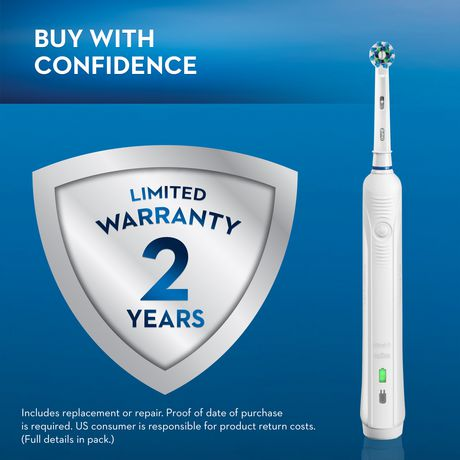 Oral-B Pro 5000 SmartSeries Power Rechargeable Electric Toothbrush Powered by Braun - image 3 of 9