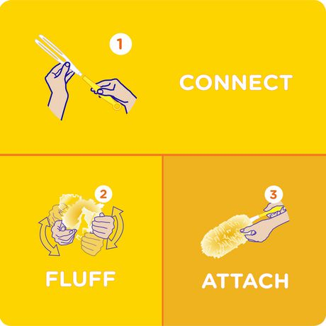 Swiffer 360 Dusters Pet Refills 3 Count - image 4 de 6