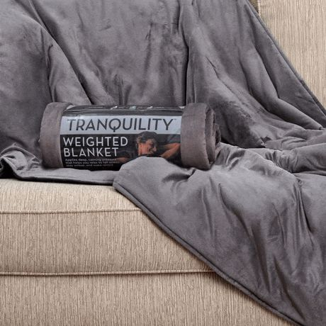 Tranquility Weighted Blanket w/ Washable Cover, 15 lbs - image 2 of 6