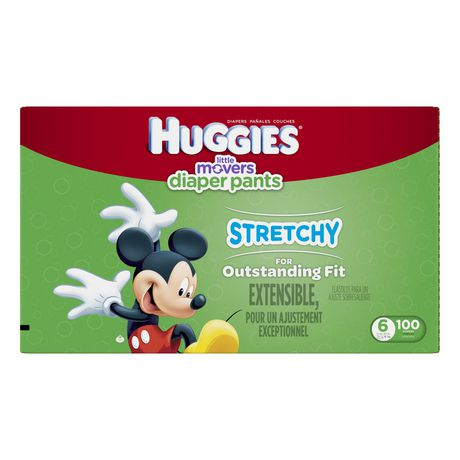 Huggies Little Movers Slip-On Diapers, Economy Pack - image 1 of 3