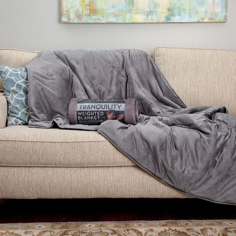 Tranquility Weighted Blanket w/ Washable Cover, 20 lbs - image 5 of 6