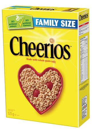 Cheerios™ Whole Grain Oats Cereal, Family Size - image 1 of 6