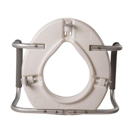 Dmi Raised Toilet Seat For Standard Toilets With Arms