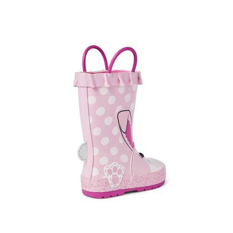 Weather Spirits Toddler Girls' Rubber Boot - image 4 of 4