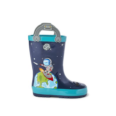 Weather Spirits Toddler Boys' Rocket Rubber Boot - image 1 of 4