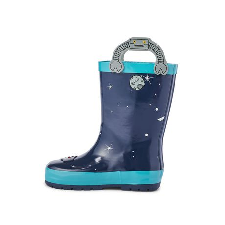 Weather Spirits Toddler Boys' Rocket Rubber Boot - image 3 of 4