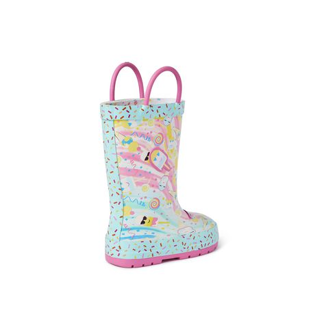 Weather Spirits Toddler Girls' Icecream Rubber Boot - image 4 of 4