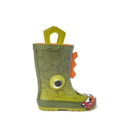 Weather Spirits Toddler Boys' Dino Rubber Boot - image 1 of 4