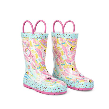 Weather Spirits Toddler Girls' Icecream Rubber Boot - image 2 of 4