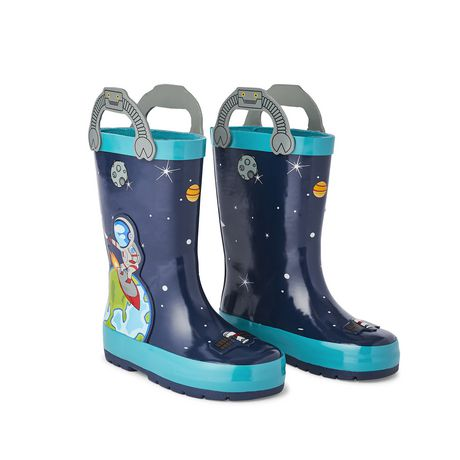 Weather Spirits Toddler Boys' Rocket Rubber Boot - image 2 of 4