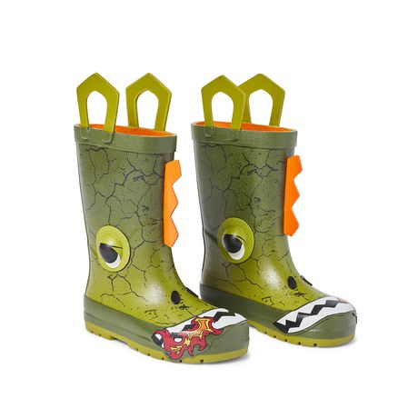 Weather Spirits Toddler Boys' Dino Rubber Boot - image 2 of 4