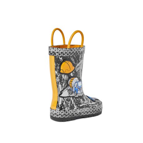 Weather Spirits Toddler Boys' Digger Rubber Boot - image 4 of 4