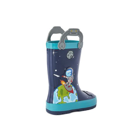 Weather Spirits Toddler Boys' Rocket Rubber Boot - image 4 of 4