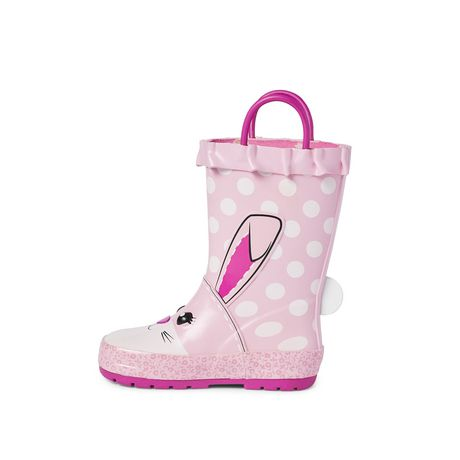Weather Spirits Toddler Girls' Rubber Boot - image 3 of 4