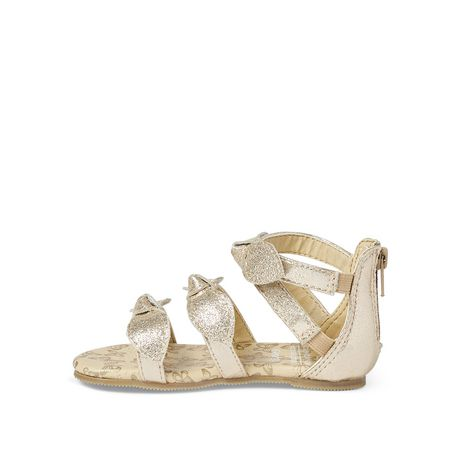 George Toddler Girls' Triple Casual Sandals - image 3 of 4