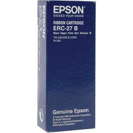 Epson ERC-27B Black Nylon Cash Register Ruban - image 1 de 2