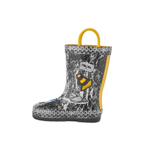 Weather Spirits Toddler Boys' Digger Rubber Boot - image 3 of 4