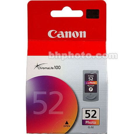 Canon CL-52 Photo Ink Cartridge (0619B002) - image 1 of 1